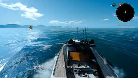 FINAL FANTASY XV_speedboat journey