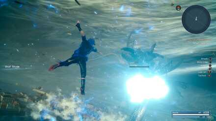FINAL FANTASY XV_Noctis x Leviathan