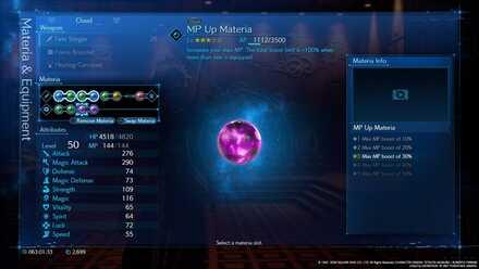 MP Up Materia