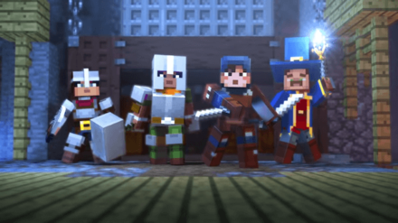 Minecraft Dungeons - Enter the brave heroes