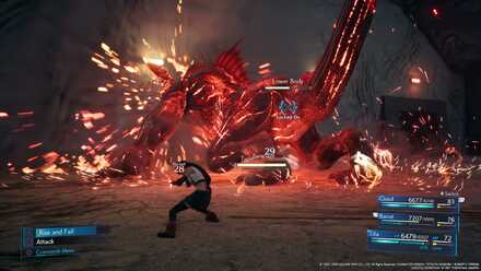 Behemoth Using Rampage