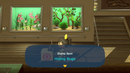 ACNH - International Museum Day - Hiding Bugs.png