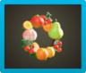 Fruit Wreath Icon