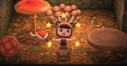 Animal Crossing: New Horizons (ACNH) Mushroom Series.png