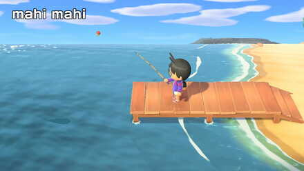 Mahi Mahi Shadow Size Price Location And How To Catch Animal Crossing New Horizons Switch Game8 The olive flounder (ヒラメ, hirame) is a saltwater fish in the animal crossing series introduced in doubutsu no mori e+. mahi mahi shadow size price location