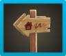 Angled Signpost Image