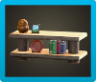 Log Decorative Shelves Image