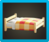 Wooden Double Bed Image