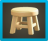 Wooden Stool Image