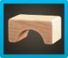 Wooden-Block Stool Image