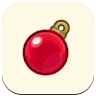 Red Ornament Icon