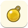 Gold Ornament Icon