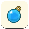 Blue Ornament Icon