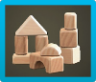 Wooden-Block Toy Icon