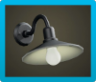 Iron Wall Lamp Icon