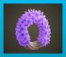 Purple Hyacinth Wreath Icon