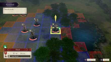 FE3H General Attack Range