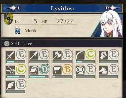 FE3H Lysithea abilities