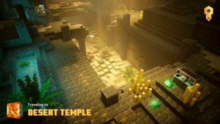 Desert Temple Banner