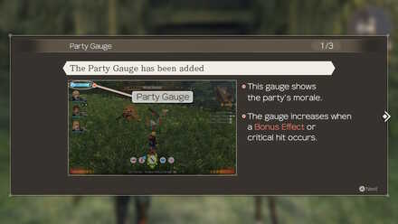 Filling the Party Gauge