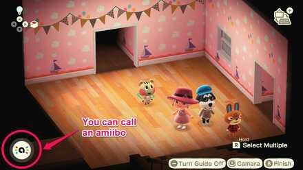 Calling amiibos in Photopia.jpg