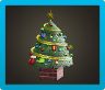 Big Festive Tree Icon