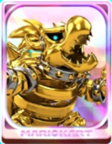 Dry Bowser (Gold)
