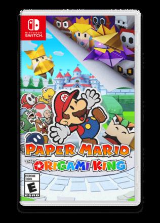 Paper Mario Origami King Case