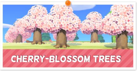 How To Get A Cherry Blossom Tree Acnh Animal Crossing New Horizons Switch Game8