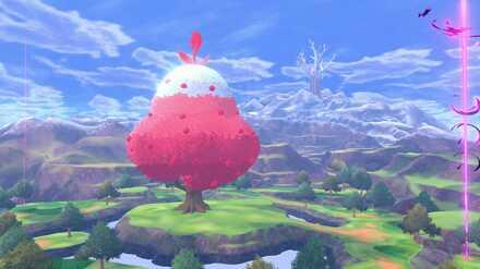 Pokemon Crown Tundra Tree