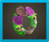 Dark Rose Wreath Image
