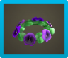Purple Pansy Crown Icon