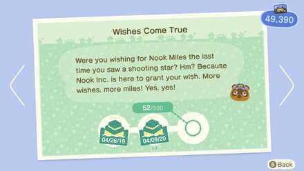 Wishes Come True Nook Miles.jpg