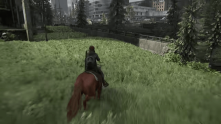 The Last of Us Part II - Horse