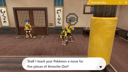 Pokemon Dojo Move Tutor