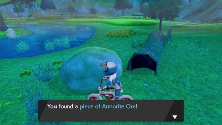 Find Armorite Ore in the Wild