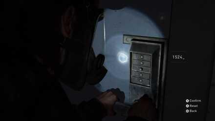Locker Room key pad