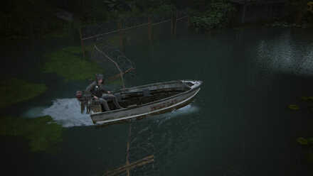 DRIVING BOAT PS5 THE LAST OF US PART II