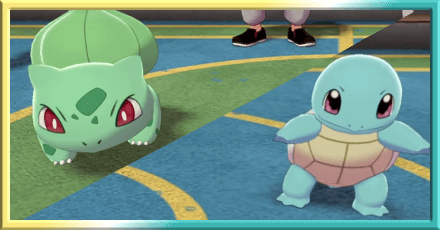 Choose Bulbasaur or Squirtle