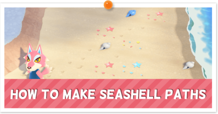 ACNH - Custom Seashells Instructions