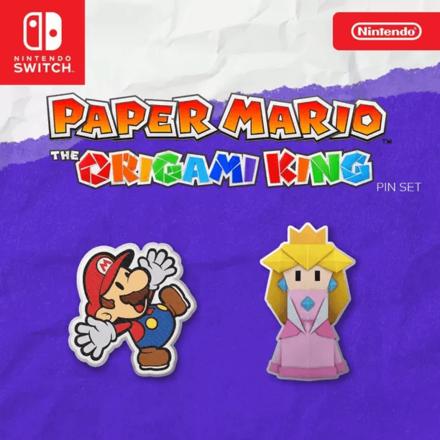 Paper Mario The Origami King Pre-Order Bonus Pin Set (1).png