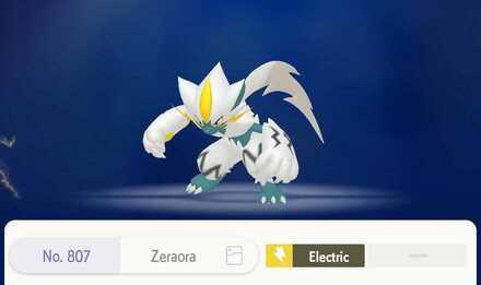 Get Shiny Zeraora