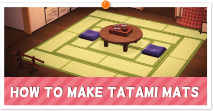 ACNH - Custom Tatami Instructions