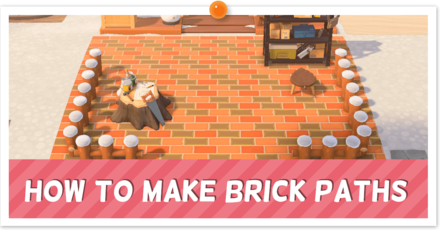 ACNH - Custom Brick Path Instructions