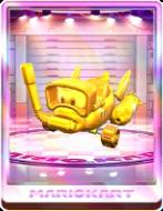 Gold Cheep Snorkel