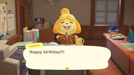 Isabelle greeting Happy Birthday.jpg