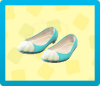 Mermaid Shoes - Light Blue
