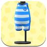 Blue Horizontal-Striped Wet Suit.png