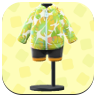 Yellow Leaf-Print Wet Suit.png