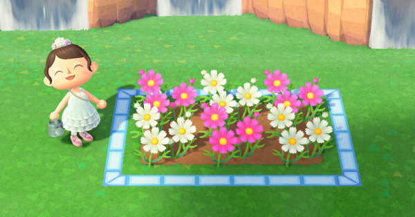How to Make Flowerbeds | ACNH - Animal Crossing: New ...